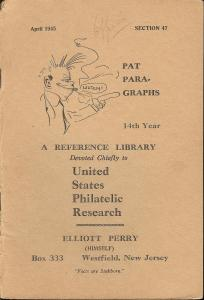 Pat Para-Graphs, 14th Year, A Reference Library Devoted C...