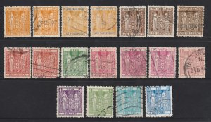 New Zealand an unsorted lot of New Zealand Arms postally used