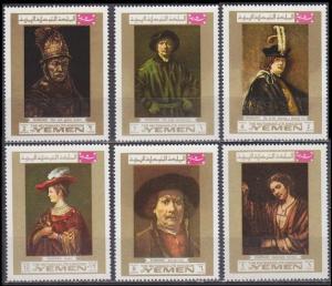 1969Yemen (Kingdom)710-15Rembrant7,50 €