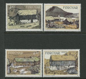 STAMP STATION PERTH Faroe Is.#243-246 Pictorial Definitive Iss.MNH 1992 CV$9.00