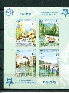 Bosnia Herzegov.  2005  Imperf sheet  Mint VF NH -  Lakeshore Philatelics