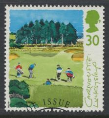 Great Britain  SG 1831 SC# 1569 Used / FU with First Day Cancel - Golf Scotti...