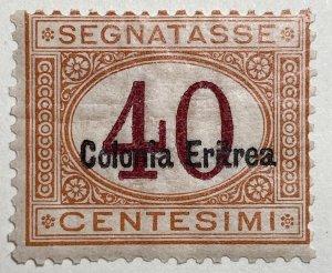 AlexStamps ERITREA #J5a F Mint