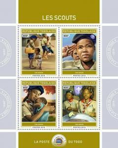 Z08 TG190131a TOGO 2019 Scouts MNH ** Postfrisch