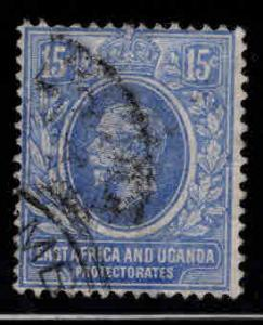 East Africa and Uganda protectorates  Scott 45 KEVII nice color and centering