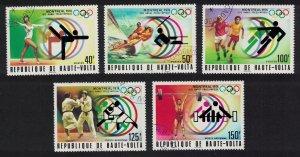 Upper Volta Summer Olympic Games Montreal 5v 1976 CTO SC#C230