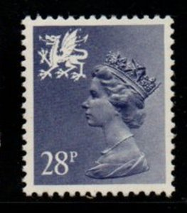 GB Wales SC WMMH50183028p pf 13 1/2 x 14  Machin Head stamp mint  NH