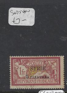 SYRIA (PP2305B)  ON FRANCE  5 PI/1 FR  SG 75   VFU