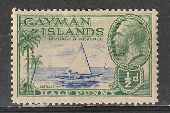 #86 Cayman Islands Mint OGH George V