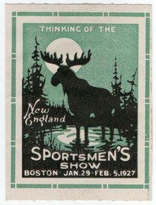 (I.B) US Cinderella : New England Sportsmen's Show (Boston 1927)