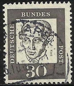 Germany 1961 Scott# 831 Used