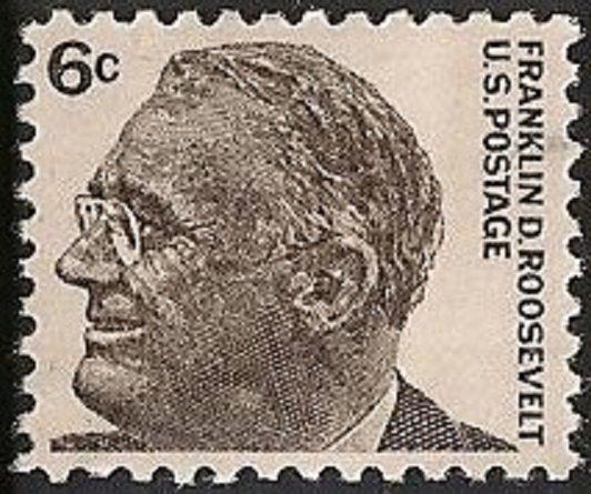 US 1284 Franklin D Roosevelt 6c Single MNH 1966