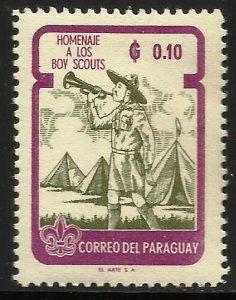 Paraguay 1962 Scott# 638 MH