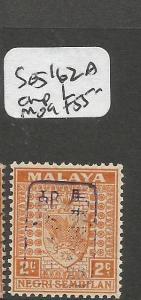 Malaya Jap Oc Negri Sembilan SG J162a Chop L MOG (1cnn)