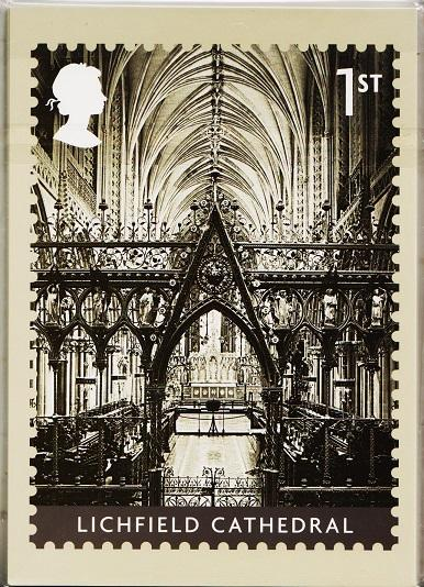 Great Britain. 2008 Cathedrals. PHQ Cards(11) Unused
