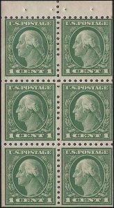 462a Mint,OG,NH... Booklet Pane... SCV $16.00