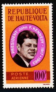 Upper Volta - #C19 John F. Kennedy - MNH