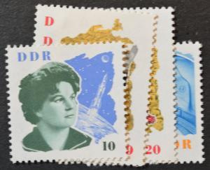 DDR Sc # 673-76, VF MNH