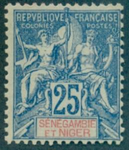 Senegambia & Niger #8  Mint  Scott $21.00   No Gum