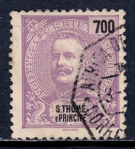 St. Thomas and Prince Islands - Scott #61 - Used - SCV $12.00