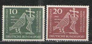 Germany -  Deutsche Bundespost 1960 Sc# 811-812 MH VG