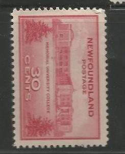 NEWFOUNDLAND 267, MNH, MEMORIAL UNIVERSITY