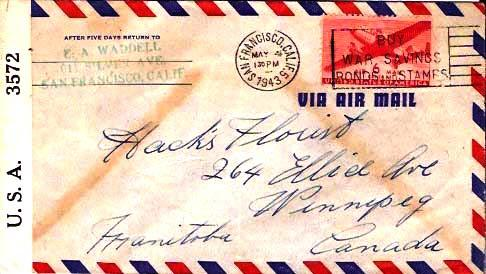 United States Transport Issue 1943 Postal History