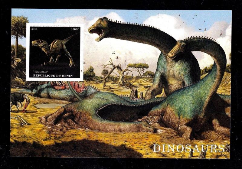 10pcs Animals Nature Prehistoric Dinosaurs impe Private Local issue PL25 not MNH
