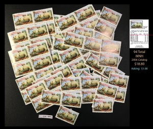 Nicaragua Dealer's Lot ~ Sct. 946 ~ 94 tot  ~ CLR90545