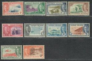 $Cayman Islands Sc#122-131 M/LH/VF-XF, part set, Cv. $24.75