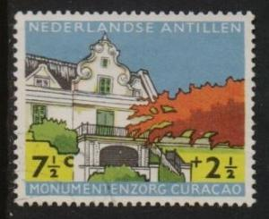 Netherlands Antilles 1959 used buildings  7 1/2 c  #