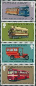 Guernsey 1979 SG203-206 Public Transport set MNH