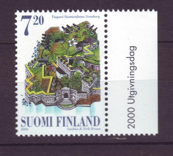 J19345 Jlstamps 2000 finland set of 1 mnh #1120 fortress