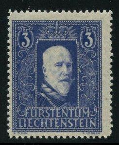 Liechtenstein 1933 Prince Francis Sc# 114 mint