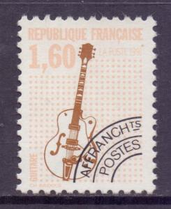 France SG3052a - YT 213, 1992 Guitar 1f60 Pre-Cancel used