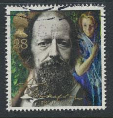 Great Britain SG 1608   Used  - Lord Tennyson