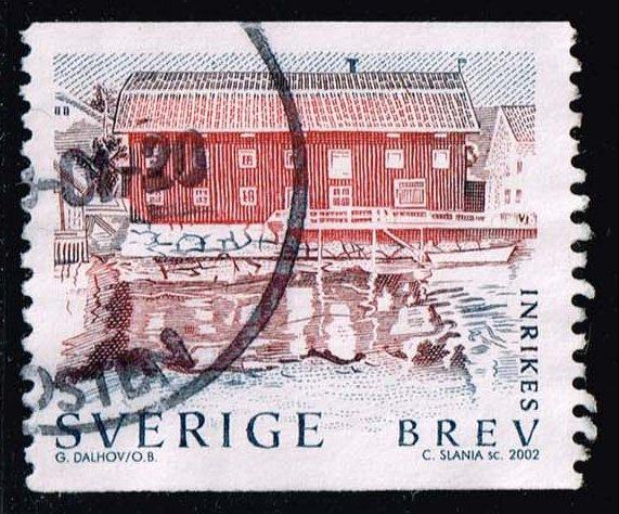Sweden #2441 Waterfront Building; Used (1.00)