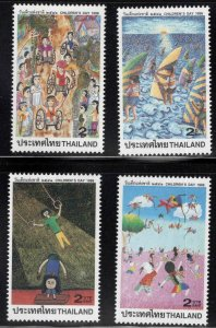 Thailand  Scott 1788-1791 MNH** 1998 Childrens day stamp set