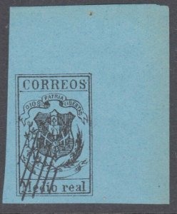 DOMINICAN REPUBLIC  An old forgery of a classic stamp.......................C914