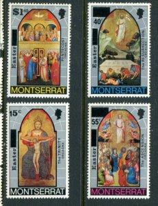 Montserrat MNH 333-6 Easter