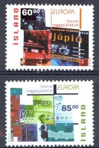 Iceland Sc# 993-994 MNH 2003 Europa