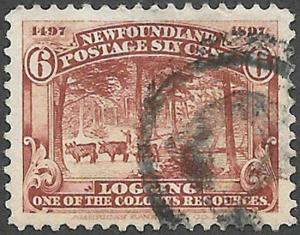 Newfoundland Scott Number 66 VF Used