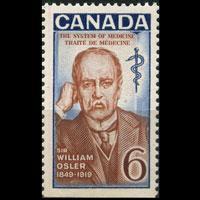 CANADA 1969 - Scott# 495 Physician Osler BP Set of 1 NH