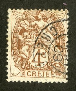 FRENCH CRETE 4 USED SCV $2.75 BIN $1.25 ANGELS