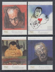 Argentina 1968-1971 Paintings MNH VF