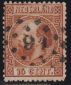 Netherlands 1867 SC 9 USED