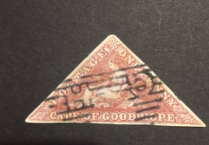 COGH 1863-64, cape of good hope 1p SG#18