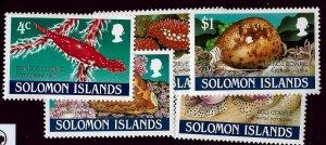 Solomon Islands SC#666-670 MNH VF...Worth a Bid!