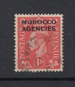 Great Britain Off. in Morocco, Sc 247 (SG 78), used