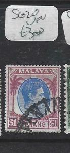 MALAYA PENANG   (P0704BB)  KGVI   $1.00 SG 20   VFU